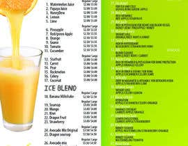 #7 cho Design a menu for a juice stall bởi jacklai8033399