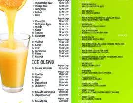 #7 para Design a menu for a juice stall por jacklai8033399
