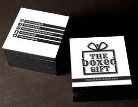 #21 untuk Design Social Media Business Cards for The boxed Gift oleh carlostronick