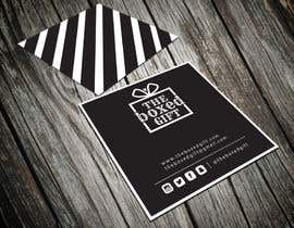 #36 untuk Design Social Media Business Cards for The boxed Gift oleh shyRosely
