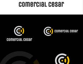 #126 untuk Diseñar un logotipo for COMERCIAL CESAR oleh sdmoovarss