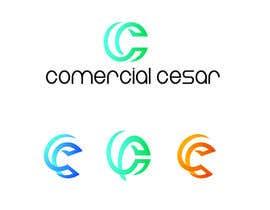 #118 untuk Diseñar un logotipo for COMERCIAL CESAR oleh skpixelart