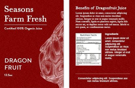 Penyertaan Peraduan #54 untuk Graphic Design for Seasons Farm Fresh
