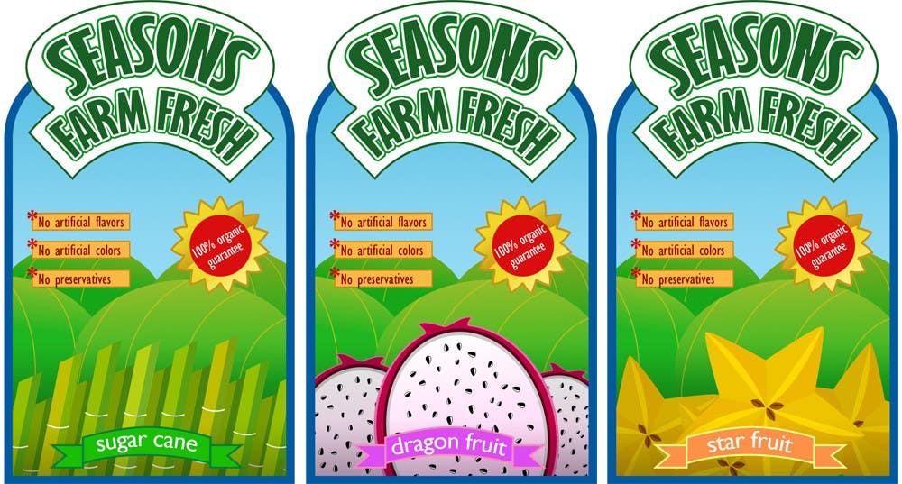 #31 for Graphic Design for Seasons Farm Fresh by monselj1