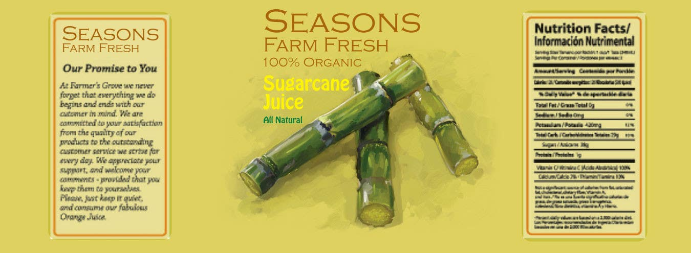 #73 for Graphic Design for Seasons Farm Fresh by gfaruque2