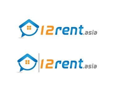 #307 para Design a Logo for 12rent.asia por rraja14