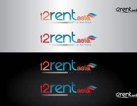 #119 para Design a Logo for 12rent.asia por GeorgeOrf