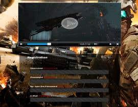 Nro 9 kilpailuun Design a Website Mockup for RTS Browser Game käyttäjältä esterafer