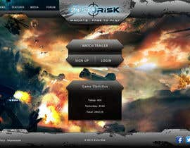 #31 for Design a Website Mockup for RTS Browser Game by PeterPanek