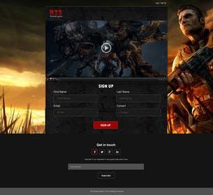 Nro 2 kilpailuun Design a Website Mockup for RTS Browser Game käyttäjältä ankisethiya