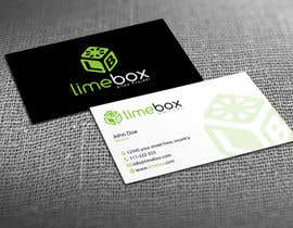 #102 untuk Design a Logo and a business card for limebox oleh HammyHS