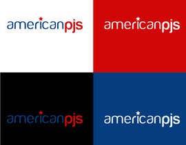 """Nro 38 kilpailuun Design a Logo for a Sleepwear Fashion Company """"AmericanPJs"""" käyttäjältä karanjapaul60"""