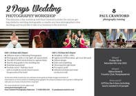 Bài tham dự #11 về Graphic Design cho cuộc thi Design a Flyer for my wedding photography workshops