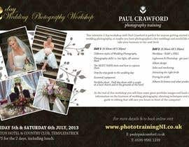#24 untuk Design a Flyer for my wedding photography workshops oleh ninasancel