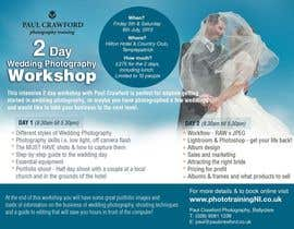 #6 untuk Design a Flyer for my wedding photography workshops oleh earlybirdvw