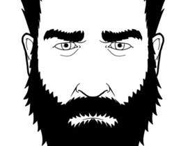 #6 cho Illustrate a tough manly masculine bearded rough FACE bởi marcokap