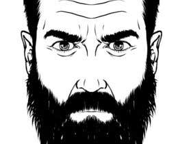 #50 cho Illustrate a tough manly masculine bearded rough FACE bởi marcokap