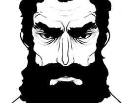 #19 untuk Illustrate a tough manly masculine bearded rough FACE oleh ailynsemrau
