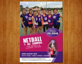 #14 cho Design a Flyer for Netball Carnival bởi raoufnawab