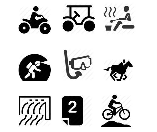 Konkurrenceindlæg #7 for Design icons 9 in total
