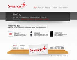 #3 для Wordpress Theme Design for Synergist SCADA INC от yesidesign