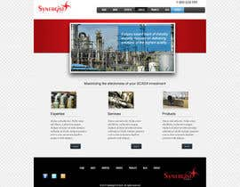#33 untuk Wordpress Theme Design for Synergist SCADA INC oleh zoreli