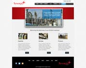 Graphic Design Contest Entry #34 for Wordpress Theme Design for Synergist SCADA INC