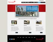 Graphic Design Contest Entry #29 for Wordpress Theme Design for Synergist SCADA INC