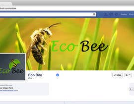 #22 for Design a Facebook Cover and Profile Pic for AZ Eco Bee af Aliahmeda94