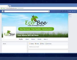 #19 for Design a Facebook Cover and Profile Pic for AZ Eco Bee af shohaghhossen
