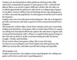 #10 for Write some Articles for GoPlay.com af abdulrahman053