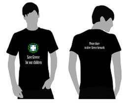 #5 para ออกแบบเสื้อยืด for Save greece por amdisenador