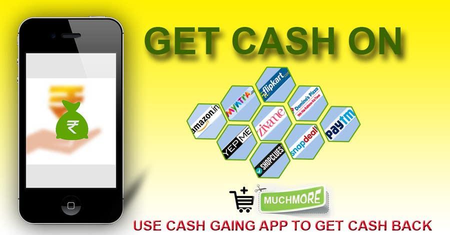 Konkurrenceindlæg #6 for Design a Coverpage & Banner for Cash Gain App