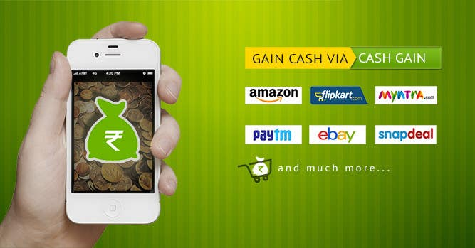 Penyertaan Peraduan #4 untuk Design a Coverpage & Banner for Cash Gain App