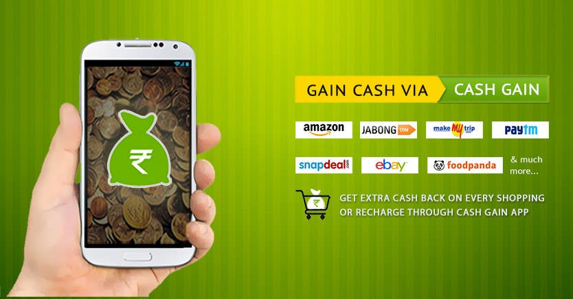 Konkurrenceindlæg #8 for Design a Coverpage & Banner for Cash Gain App