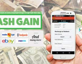 #10 for Design a Coverpage & Banner for Cash Gain App af mermiliun