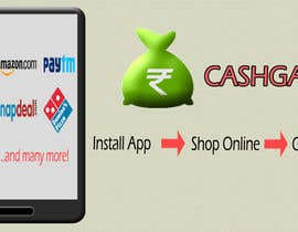 #2 for Design a Coverpage & Banner for Cash Gain App af haneef10