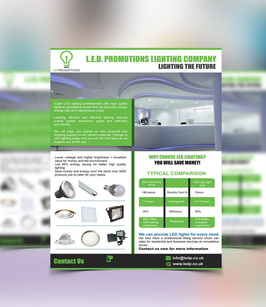 Penyertaan Peraduan #23 untuk Design a NEW marketing flyer for our business with a logo