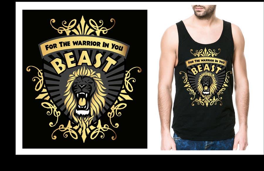 Kilpailutyö #31 kilpailussa Design a Mens or Womens MMA style T-Shirt