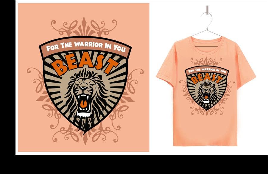 Kilpailutyö #33 kilpailussa Design a Mens or Womens MMA style T-Shirt
