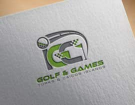 #160 untuk Logo for new indoor/outdoor virtual golf and games center oleh AalianShaz