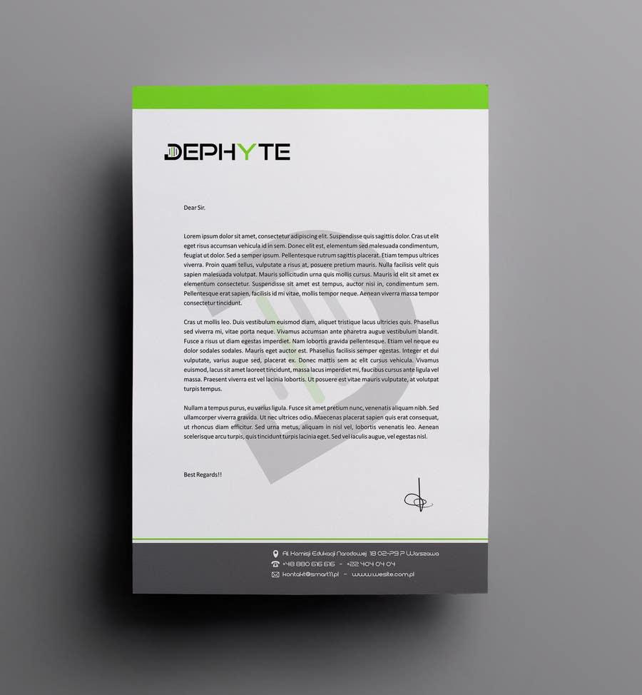 Bài tham dự cuộc thi #5 cho Ich benötige ein grafisches Design for a letter header