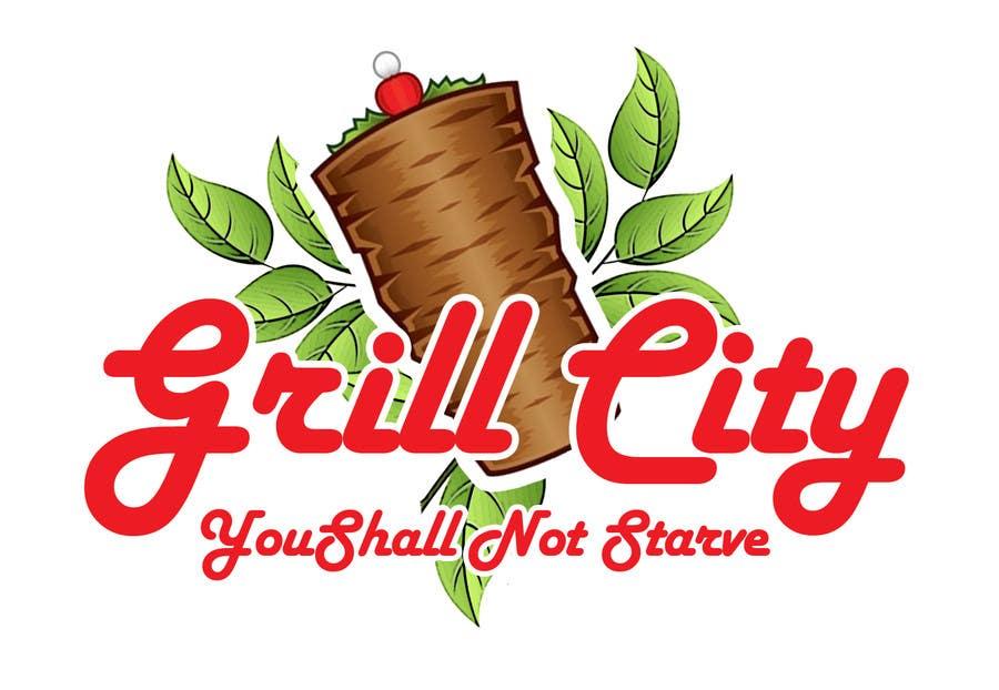 Kilpailutyö #11 kilpailussa Design a Logo for Grilled Food Restaurant