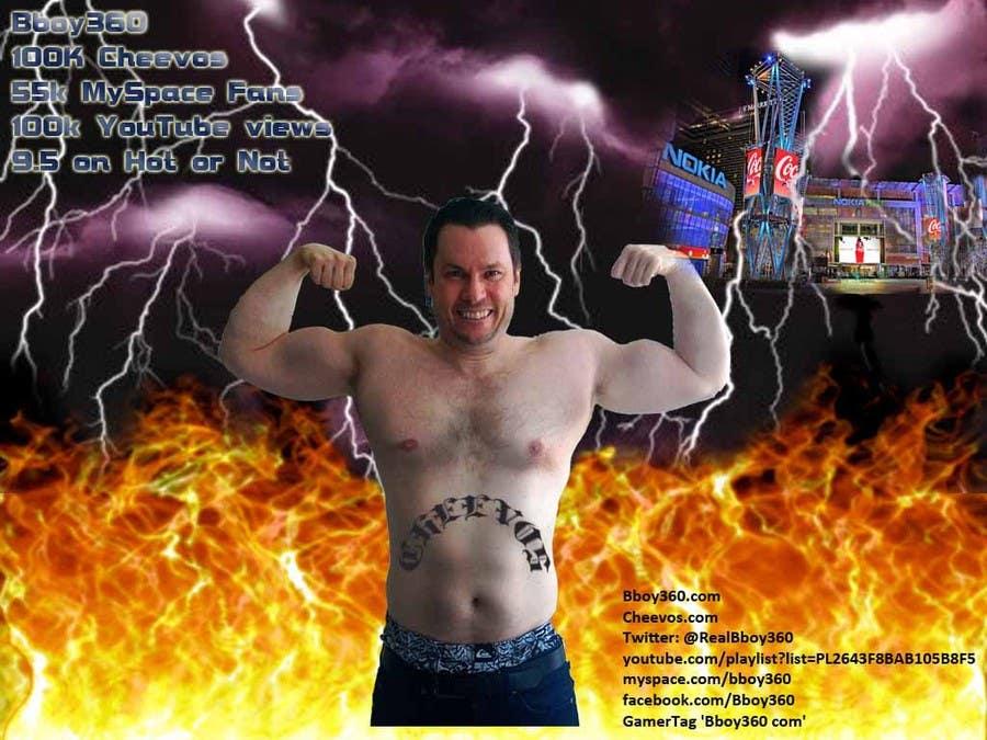 Penyertaan Peraduan #                                        20                                      untuk                                         Add Muscles, Lightning, Fire and Awsomeness to a photo of Me