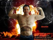 Graphic Design Entri Peraduan #17 for Add Muscles, Lightning, Fire and Awsomeness to a photo of Me