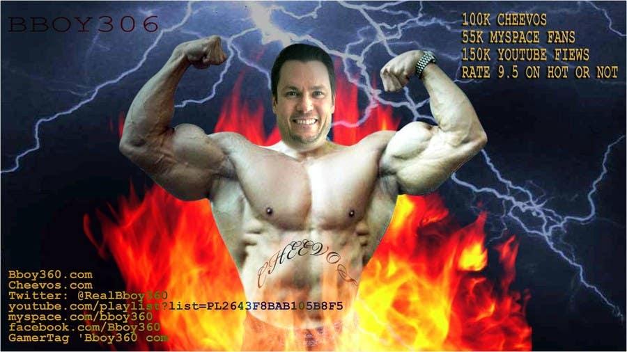 Penyertaan Peraduan #                                        3                                      untuk                                         Add Muscles, Lightning, Fire and Awsomeness to a photo of Me