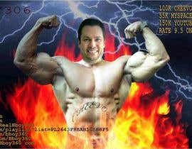 #3 for Add Muscles, Lightning, Fire and Awsomeness to a photo of Me by amirulakbar