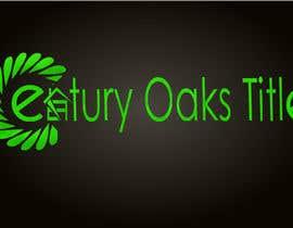 #86 untuk Design a Logo for Century Oaks Title oleh Vivek77777