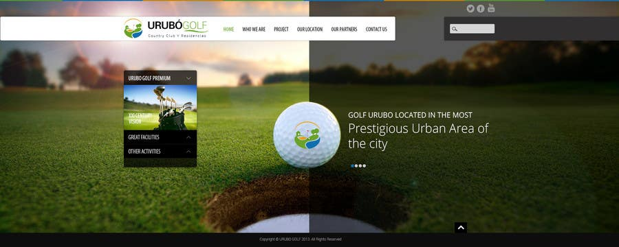 #30 for Urubo Golf Design by geniedesignssl