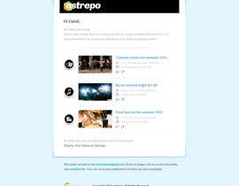 nº 37 pour Design of one email par sayedphp